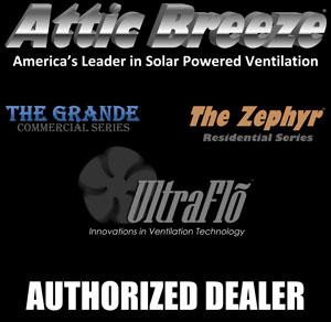 attic breeze solar attic fan dealer - Attic Ventilation
