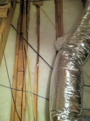 foam insulation hot wall 2 - Foam Insulation