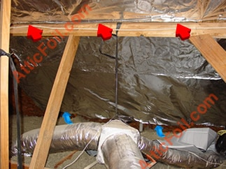 radiant barrier mckinney tx, radiant barrier allen tx, radiant barrier frisco tx